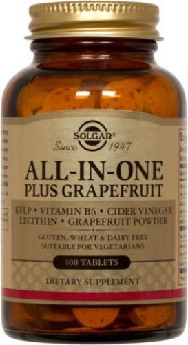 all-in-one plus grapefruit tablets