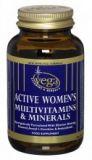 active women's multivitamin and; minerals