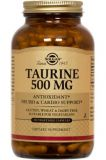 taurine 500 mg vegetable capsules image