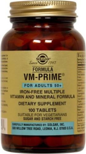 formula vm-prime� tablets (for adults 50+)