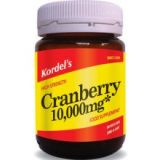 kordel's nutrition cranberry  10000mg